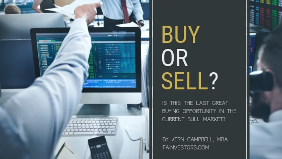 Is This The Last Great Buying Opportunity In The Current Bull Market?